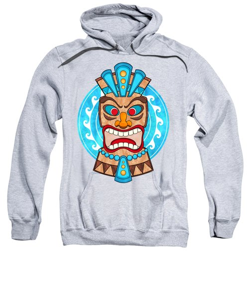 Screaming Tiki Head Sweatshirt