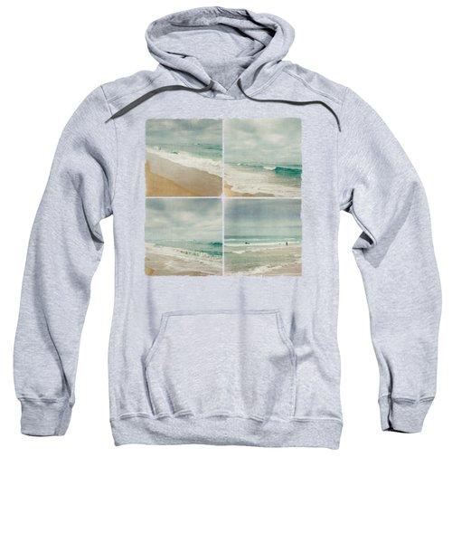Sea And Waves Mosaic Sweatshirt