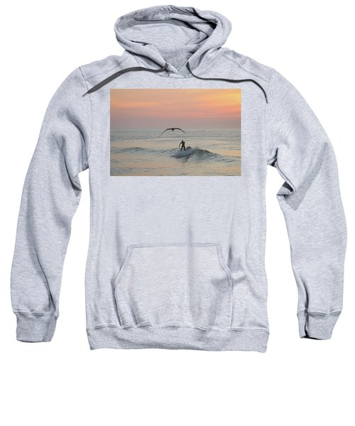 Seagull And A Surfer Sweatshirt