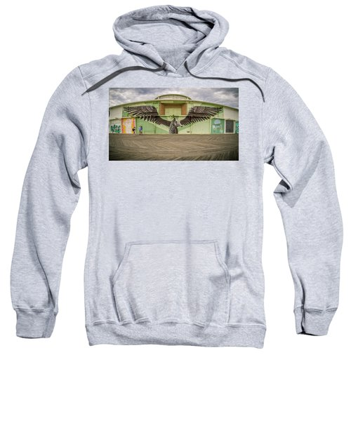 Sweatshirt featuring the photograph Seahorse by Steve Stanger