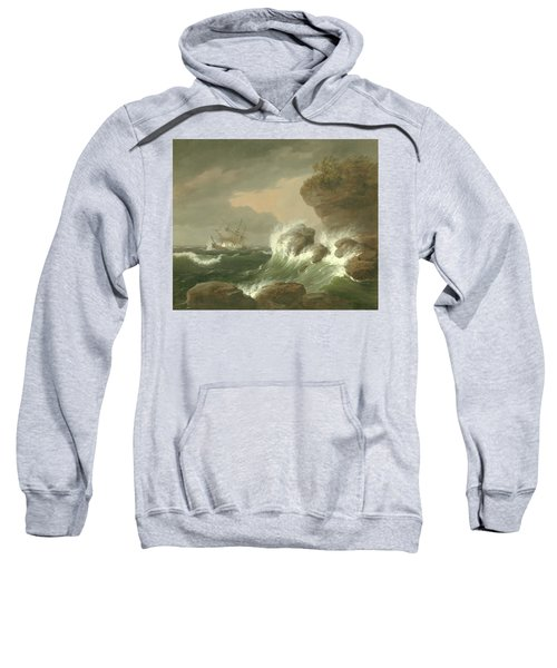 Seascape, 1835 Sweatshirt