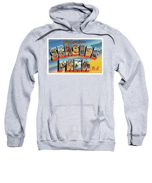 Seaside Park Greetings Sweatshirt
