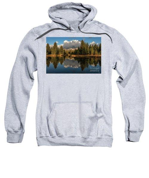 Serene At Schwabachers Landing Sweatshirt