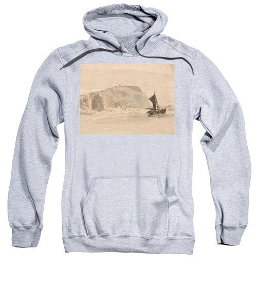 Shipwreck Off The Needles, Isle Of Wight Sweatshirt