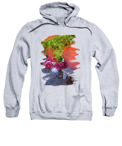 Sidewalk Floral In Brownsville Sweatshirt