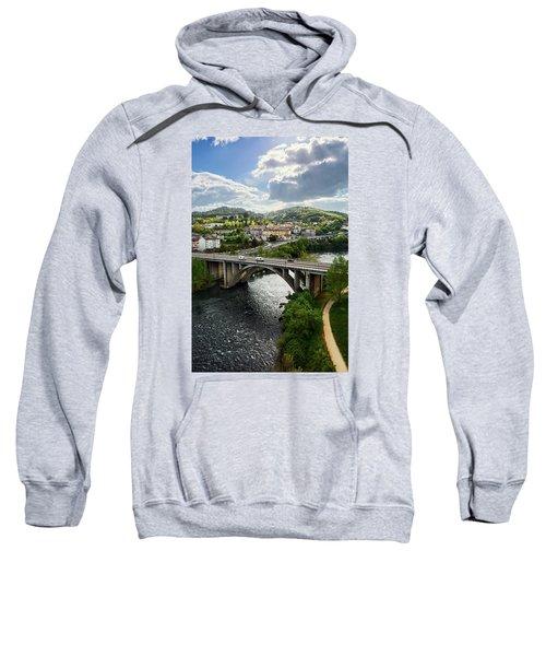 Sights From The Millennium Bridge Sweatshirt