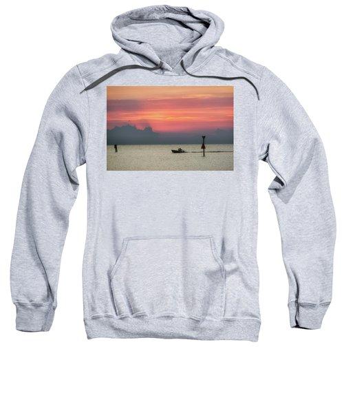 Silhouette's Sailing Into Sunset Sweatshirt