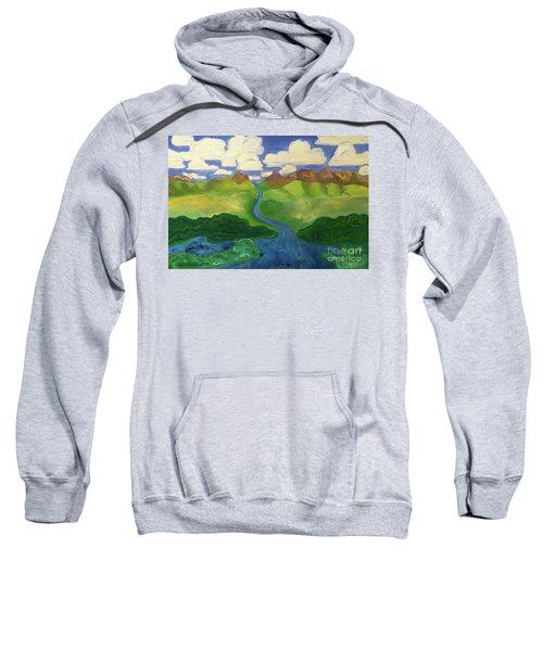 Sky River To Sea Sweatshirt