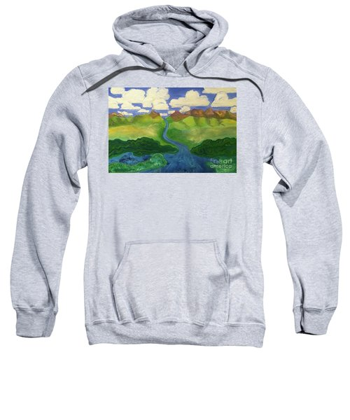 Sky River To Sea Sweatshirt