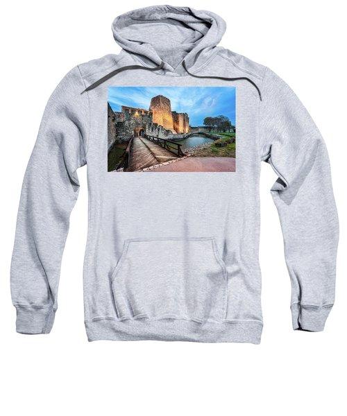 Smederevo Fortress Gate And Bridge Sweatshirt
