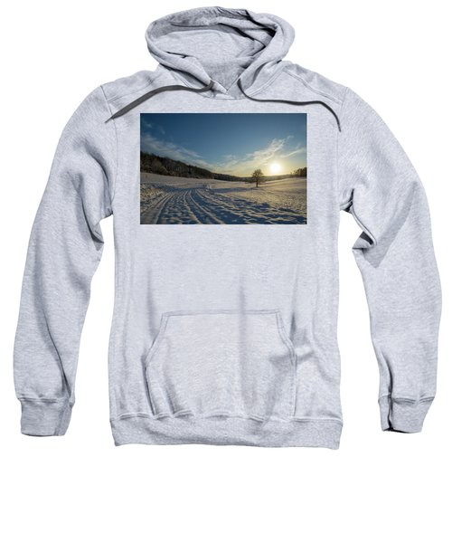 Snow And Sunset Sweatshirt