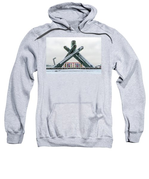 Snowy Olympic Cauldron Sweatshirt