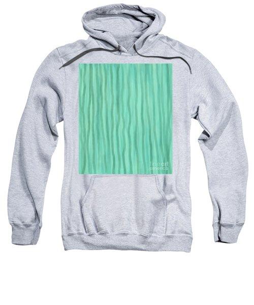 Soft Green Lines Sweatshirt