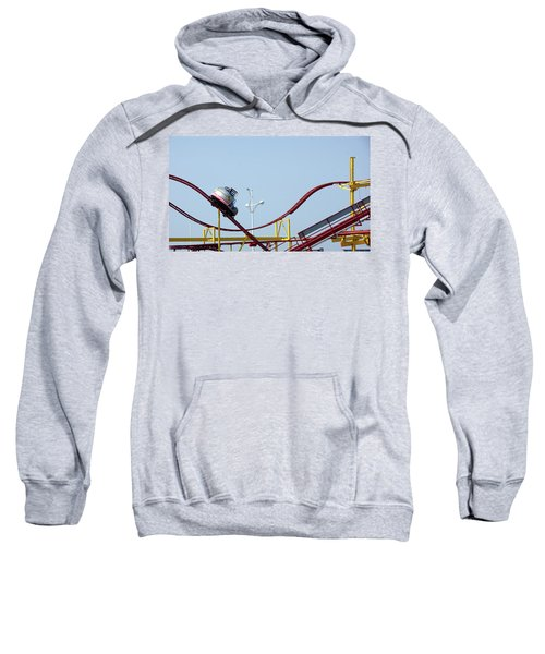 Southport.  The Fairground. Crash Test Ride. Sweatshirt
