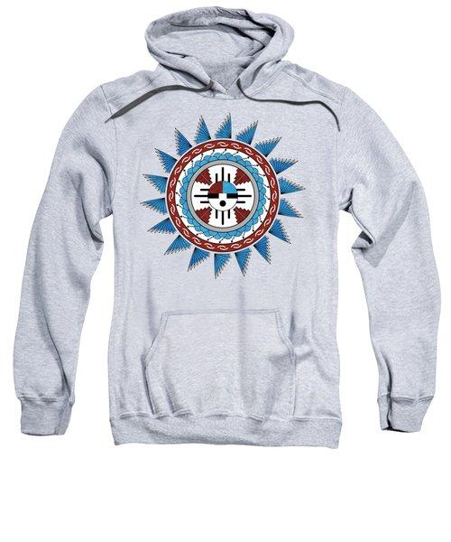 Southwest Native American Art Mandala Sweatshirt