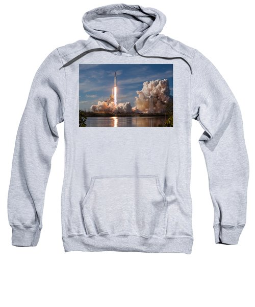 Spacex Falcon Heavy Demo Launch Lift Off Sweatshirt