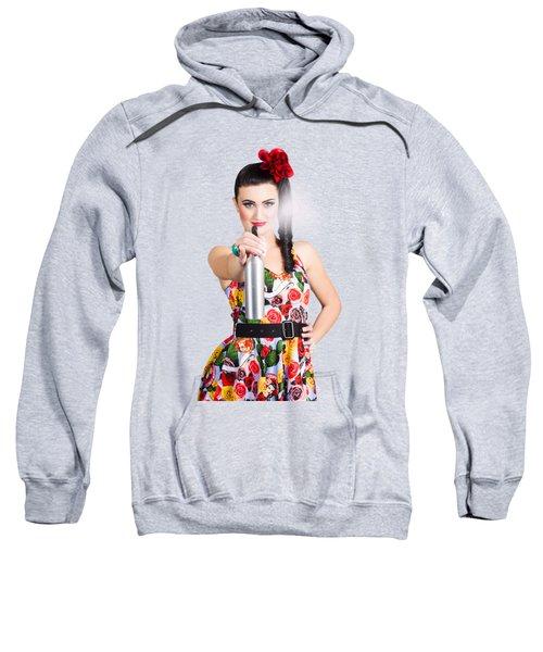 Spray And Wipe Housewife Sweatshirt