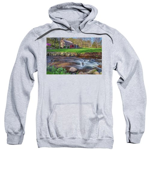 Springtime At The Grist Mill Sweatshirt