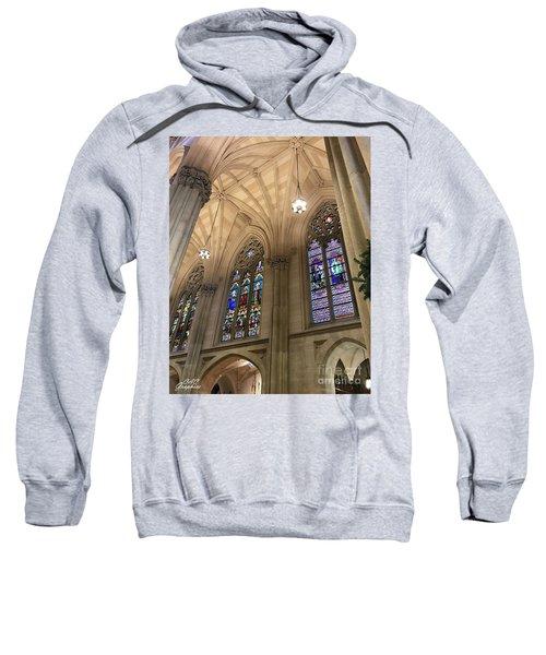 St Patricks Stained Glass Sweatshirt
