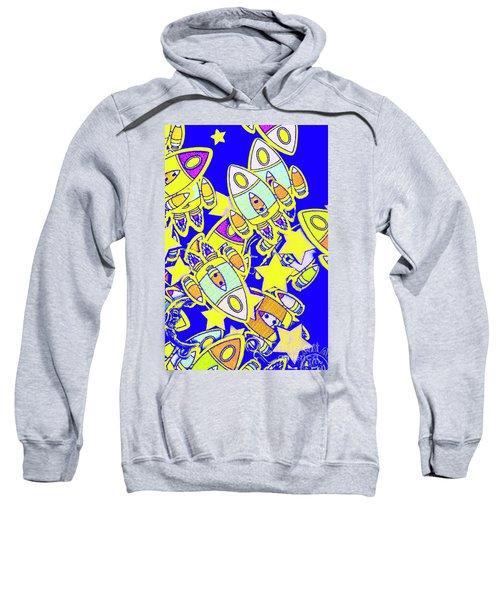 Stars And Spacecraft Sweatshirt