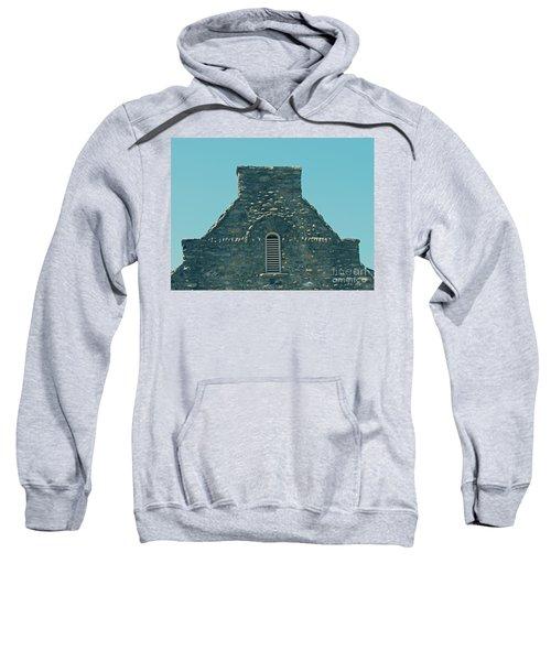Stone Topper On Building Sweatshirt