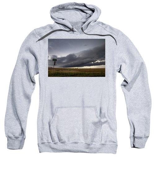 Storm Chasin In Nader Alley 004 Sweatshirt