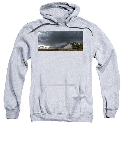 Storm Chasin In Nader Alley 008 Sweatshirt