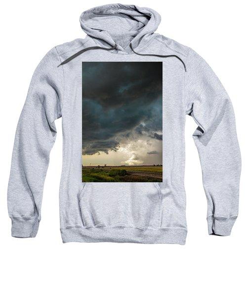 Storm Chasin In Nader Alley 012 Sweatshirt