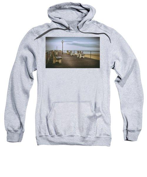 Stormy Boardwalk 2 Sweatshirt