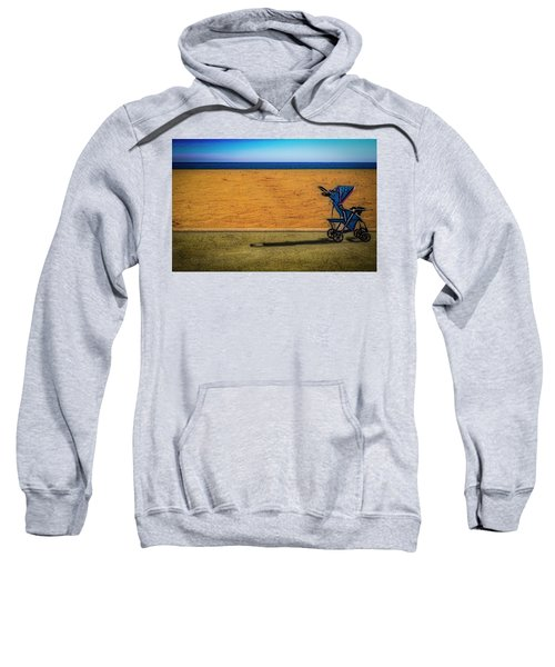 Stroller At The Beach Sweatshirt