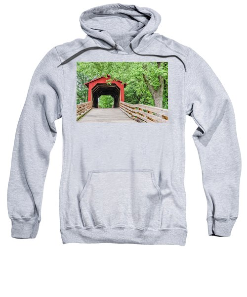 Sugar Creek Covered Bridge Sweatshirt