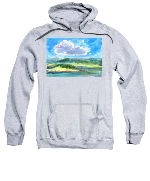 Summer Cloud In The Azure Sky Sweatshirt