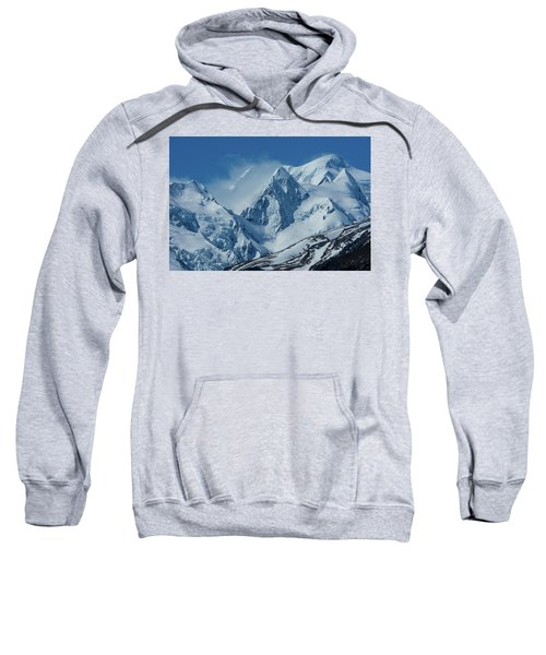 Summer Winds In Mount Cook National Park Sweatshirt