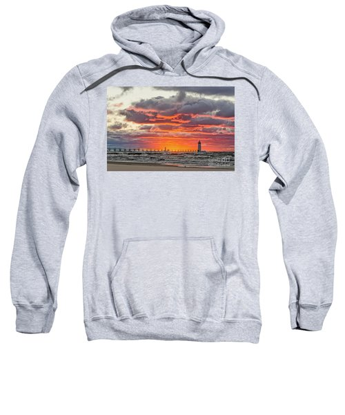 Sun Sinking Below The Horizon Sweatshirt