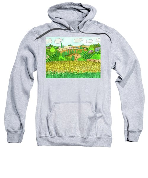 Sunflower French Countryside Sweatshirt