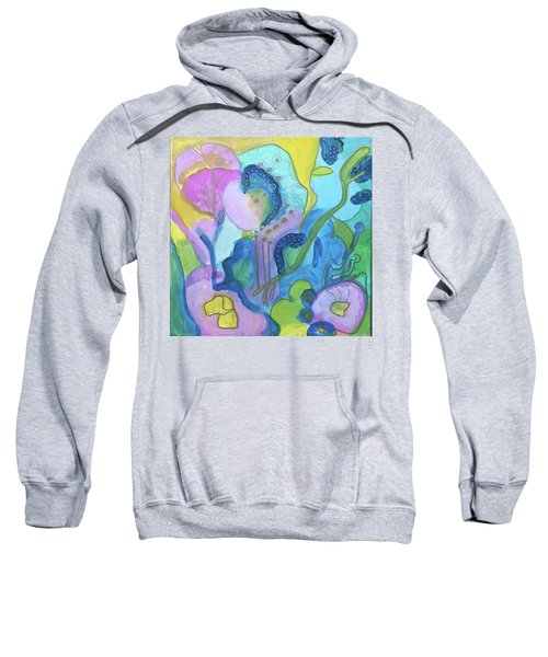 Sunny Day Abstract Sweatshirt