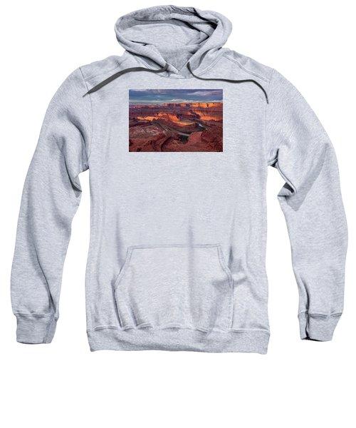 Sunrise At Dead Horse Point State Park Sweatshirt