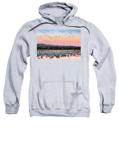 Sunrise At The Crane Pool Sweatshirt