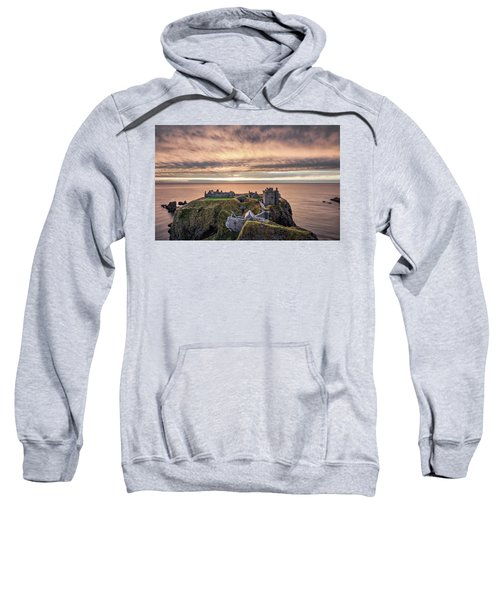 Sunrise Over Dunnottar Sweatshirt