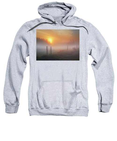 Sunrise Over Morning Pasture Sweatshirt