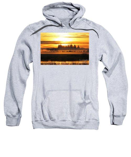 Sunrise Over The Wetlands Sweatshirt