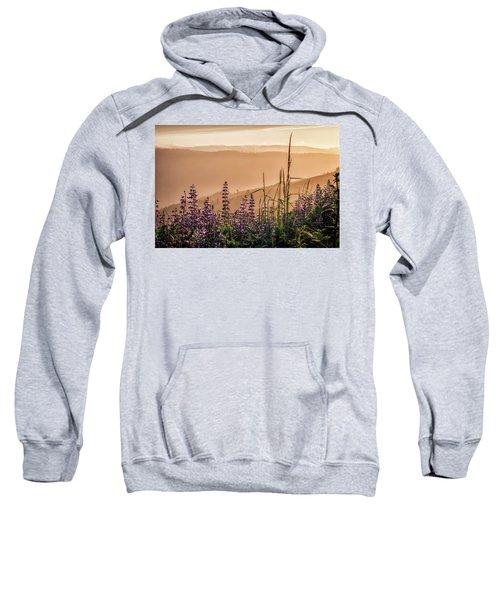 Sunset Among The Lupine Sweatshirt