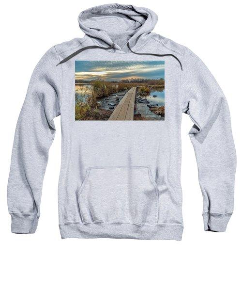 Sunset At Purgatory Creek Sweatshirt