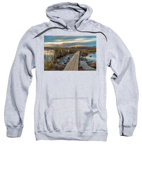 Sunset At Purgatory Creek Sweatshirt