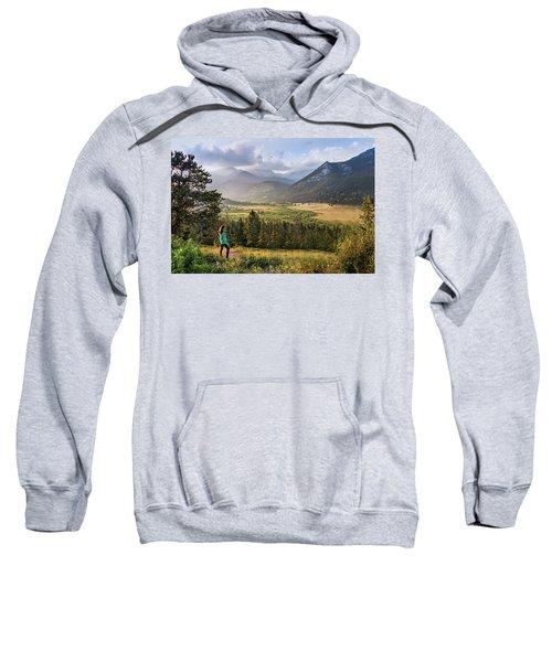 Sunset In The Rockies Sweatshirt