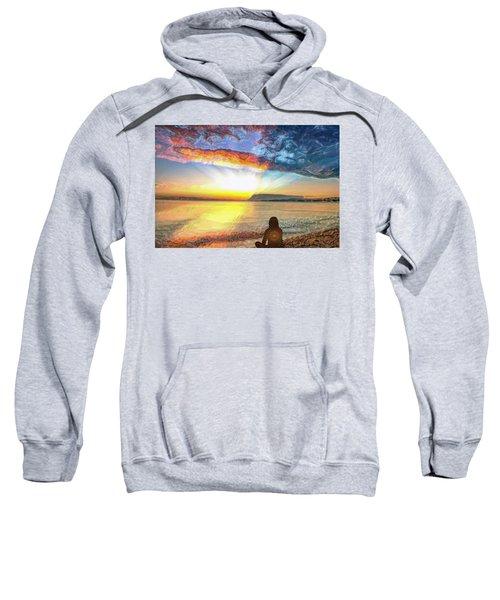 Sunset Meditation Sweatshirt