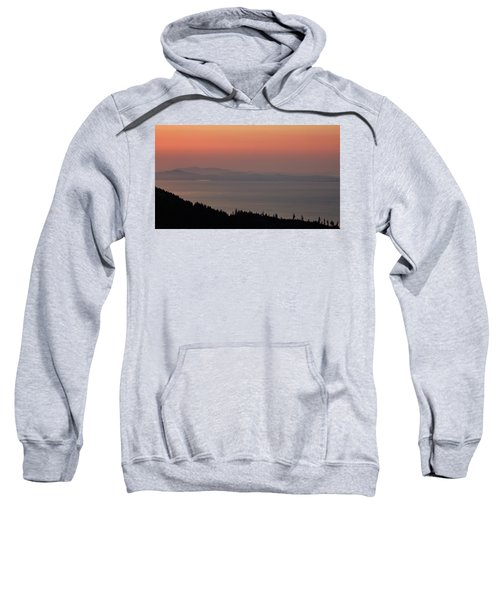 Sunset Of The Olympic Mountains Sweatshirt