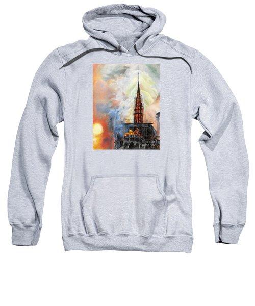 Sunset On Notre Dame Sweatshirt
