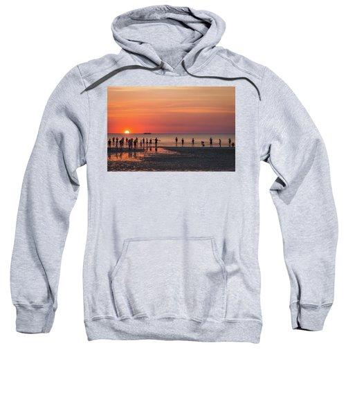 Sunset Over Mindil Beach Sweatshirt
