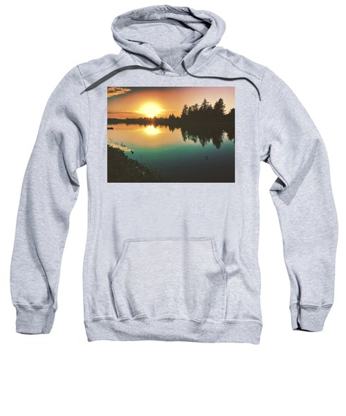 Sunset River Reflections  Sweatshirt